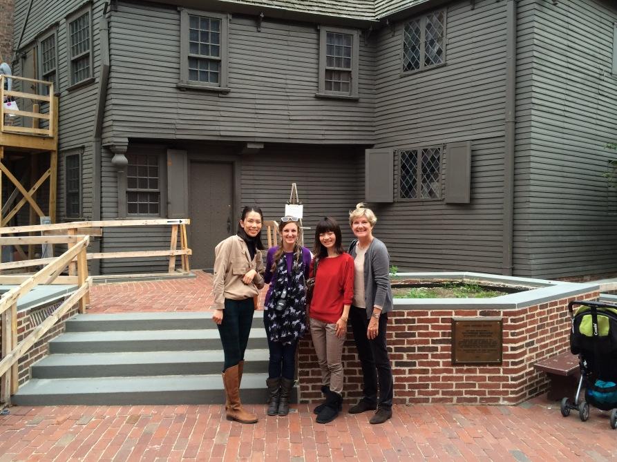Paul Revere's House in Boston
