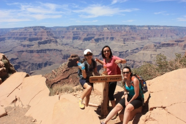 Hiking into the Grand Canyon