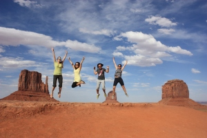 Navajo Reservation lands in Monument Valley